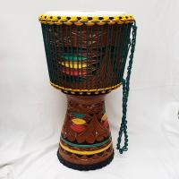 ARTISAN EDITION TONGO CARVED DJEMBE 12""