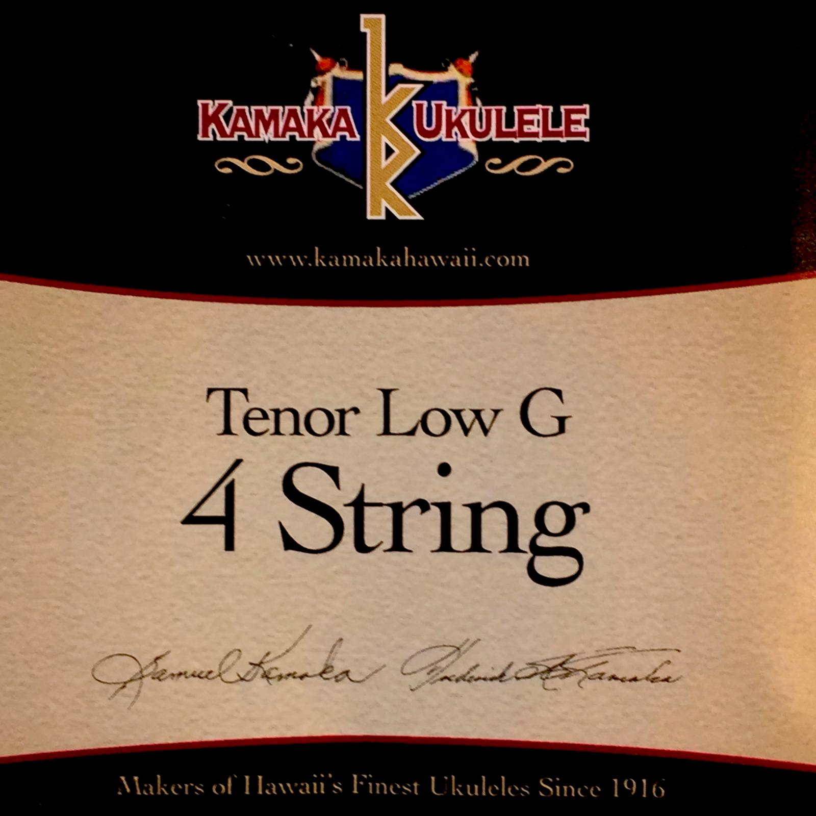 Tenor Low-G 4String