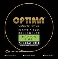 E-BASS 24K GOLD STRINGS 2299.L RL